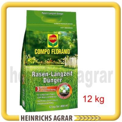 compo floranid rasen langzeitd nger 12 kg 30037 heinrichs agrar. Black Bedroom Furniture Sets. Home Design Ideas