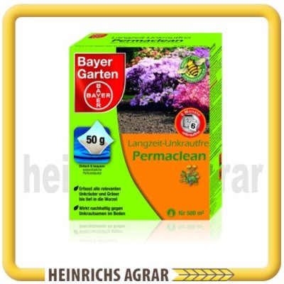 bayer permaclean garten langzeit unkrautfrei 500 g 40043 heinrichs agrar. Black Bedroom Furniture Sets. Home Design Ideas
