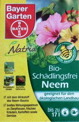 bayer bio sch dlingsfrei neem 50 ml gegen milben l use. Black Bedroom Furniture Sets. Home Design Ideas