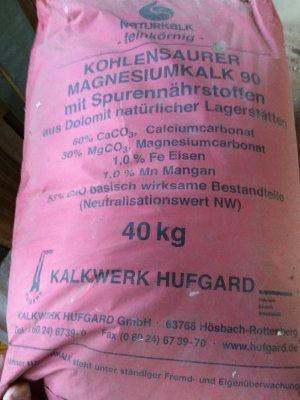 40 kg gartenkalk kohlensaurer magnesiumkalk 777740 heinrichs agrar. Black Bedroom Furniture Sets. Home Design Ideas